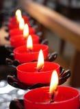 candles church Στοκ Εικόνες