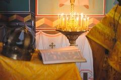 Candles at Church Royalty Free Stock Image