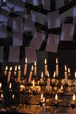 Candles in the church. Stock Images
