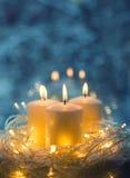Candles closeup Royalty Free Stock Photos