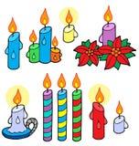 Candles a coleção Fotografia de Stock