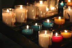 candles colorful Στοκ εικόνες με δικαίωμα ελεύθερης χρήσης