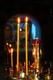 candles colorful Стоковое фото RF