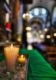 candles colorful Arkivbilder