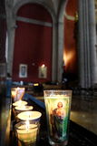candles colorful Royaltyfri Fotografi