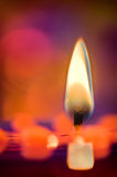 Candles & Colors Stock Photos