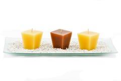 Candles a decoração Foto de Stock