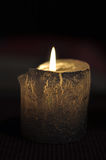 Candles decoration. Candles with background of dark Royalty Free Stock Image