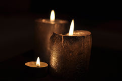 Candles decoration Royalty Free Stock Image