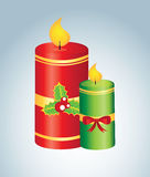 Candles design Stock Images