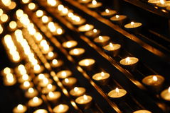 Candles of faith Royalty Free Stock Photography