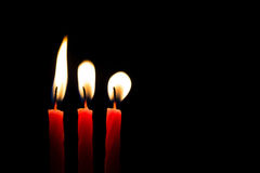 Candles Flame Abstract III Royalty Free Stock Images