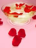 candles flowers spa Στοκ Φωτογραφία