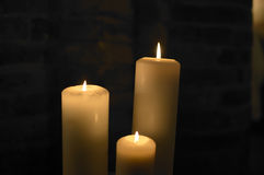 Candles,flames Royalty Free Stock Images