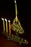 candles hanuka hanukkiya Στοκ εικόνες με δικαίωμα ελεύθερης χρήσης