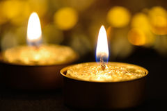 Candles holiday Stock Photos