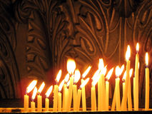 Free Candles In The Church Stock Image - 12184541