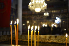 Free Candles In The Church Stock Photography - 41489492