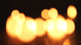 Candles light. stock footage