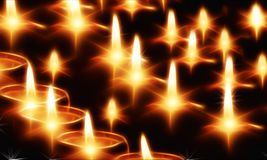 Candles, Light, Lights, Evening Royalty Free Stock Photo