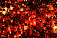 Candles Lit In Memory Of The 32 Dead People And 150 Wounded In The Fire At Club Colectiv Stock Photos