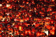 Candles Lit In Memory Of The 32 Dead People And 150 Wounded In The Fire At Club Colectiv Royalty Free Stock Photos
