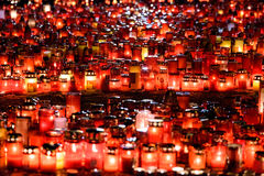 Candles Lit In Memory Of The 32 Dead People And 150 Wounded In The Fire At Club Colectiv Royalty Free Stock Photography