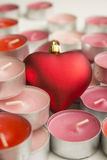 Candles of love Royalty Free Stock Photography