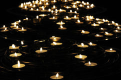 Candles for memory Royalty Free Stock Photos