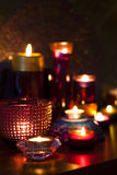 Candles in the night Royalty Free Stock Photo