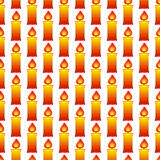 Candles pattern Royalty Free Stock Photos