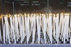 Candles a religião Fotografia de Stock Royalty Free