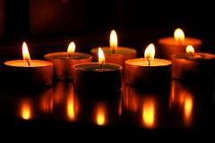 Candles. Stock Photography