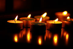 Candles. Stock Image