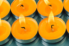 Candles shine Royalty Free Stock Image