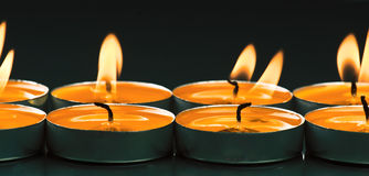 Candles shine Stock Image