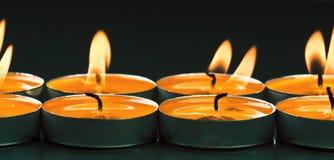 Candles shine Stock Image