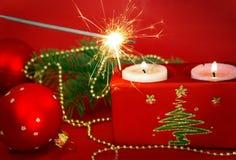 candles sparkler Στοκ Εικόνες