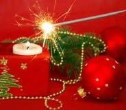 candles sparkler Στοκ φωτογραφίες με δικαίωμα ελεύθερης χρήσης