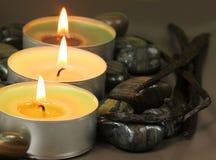 Candles termas Fotos de Stock Royalty Free