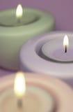 candles three Στοκ Φωτογραφία