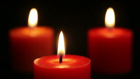 Candles stock video