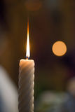 Candles wedding ceremony Stock Photos