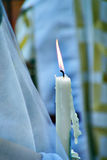 Candles wedding ceremony Stock Image