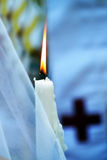 Candles wedding ceremony Royalty Free Stock Photography