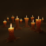 Candles2 Stock Image