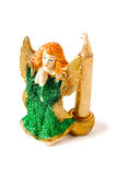 Candlestick anioł Obrazy Stock