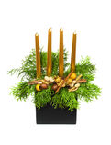 candlestick boże narodzenia Obrazy Stock