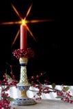 Candlestick - Christmas Stock Photo