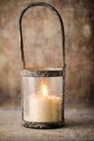 Candlestick. Christmas lantern. Cristmas decoration, greeting ca Royalty Free Stock Photography